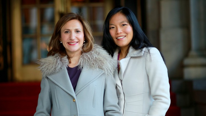 Romy Newman and Georgene Huang co-founders of Fairygodboss.
