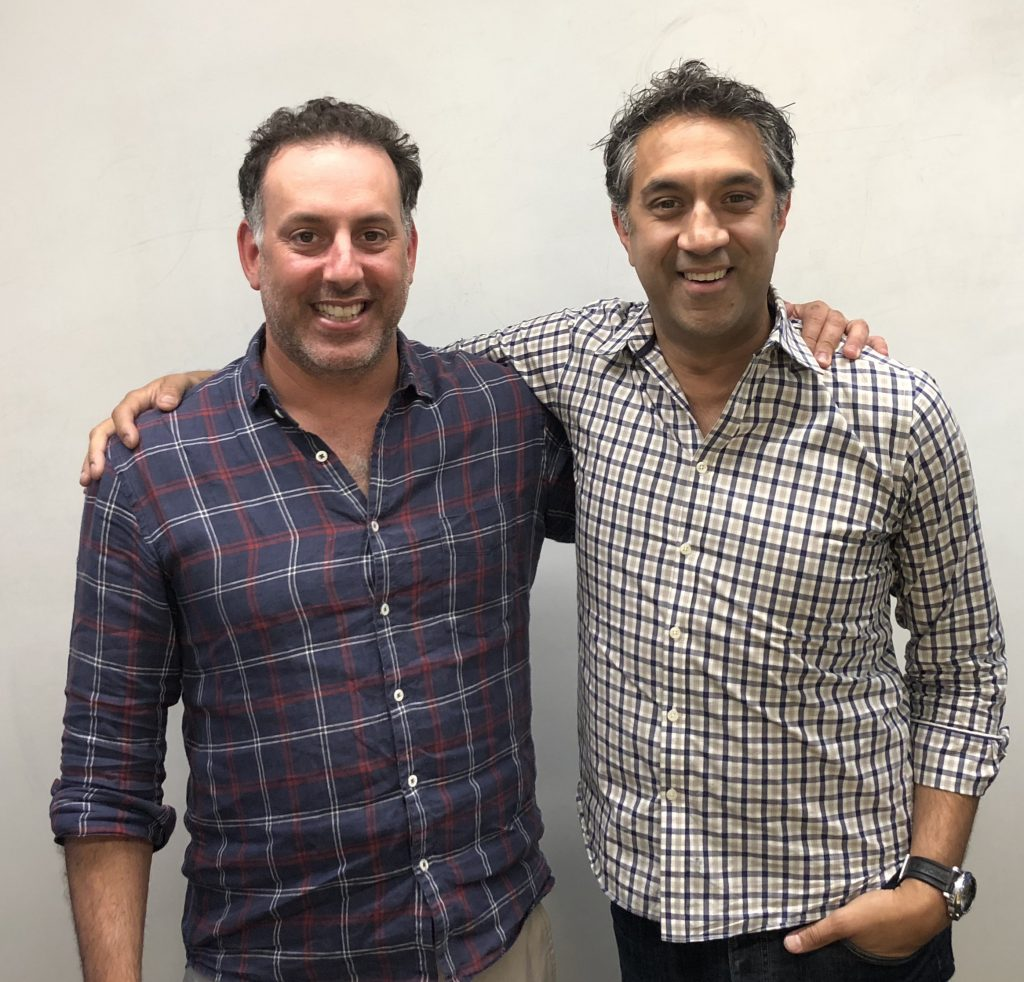 Rich Resnick and Gireesh Sonnad co-founders of Silverline