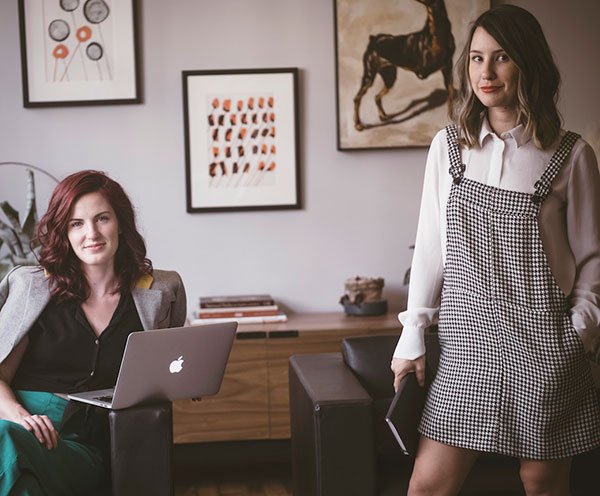 Kaitlyn Barclay and Willow Hill, Co-founders of Scout Lab