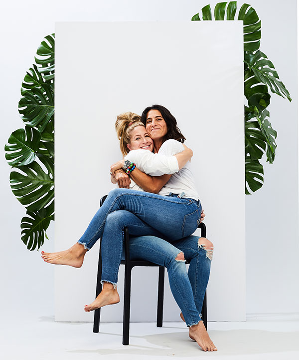 Jenny Evans and Kirsten Ludwig, Co-Founders of BeautyGrass