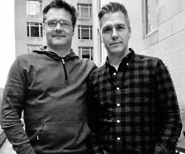 Duos Podcast Co-Founders Justin Marcus and Michael Czirjak