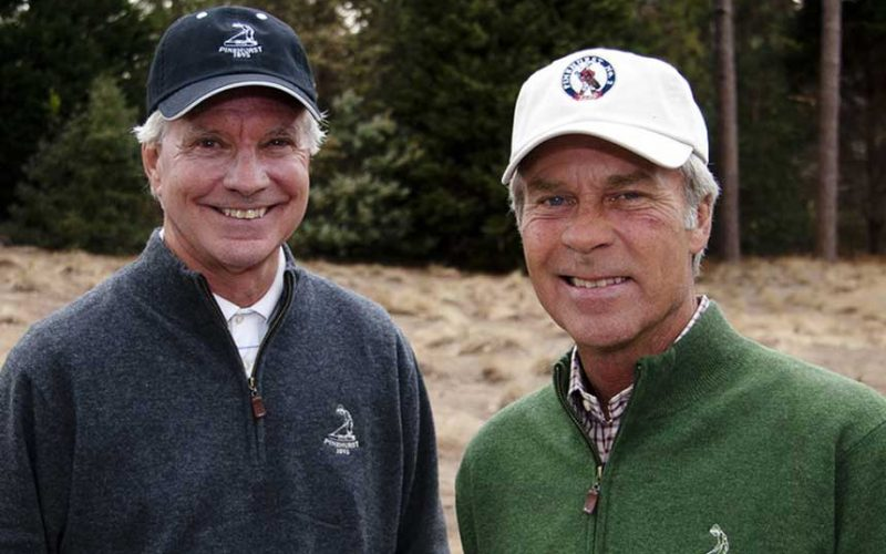 Bill Coore and Ben Crenshaw, Co-Founders of Coore & Crenshaw