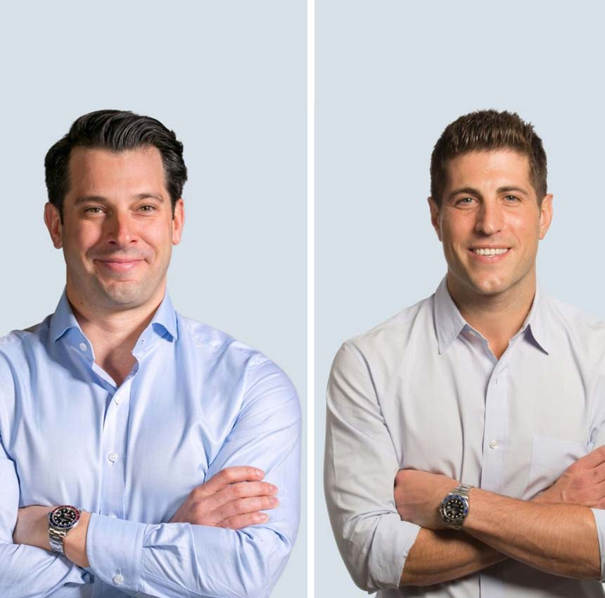Nick Romito and Ryan Masiello, Co-Founders of VTS